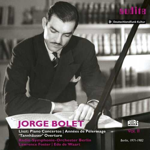Jorge Bolet - RIAS Recordings vol.2 (24/48 FLAC)
