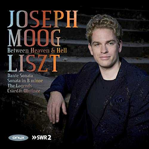 Joseph Moog: Liszt - Between Heaven & Hell (24/48 FLAC)