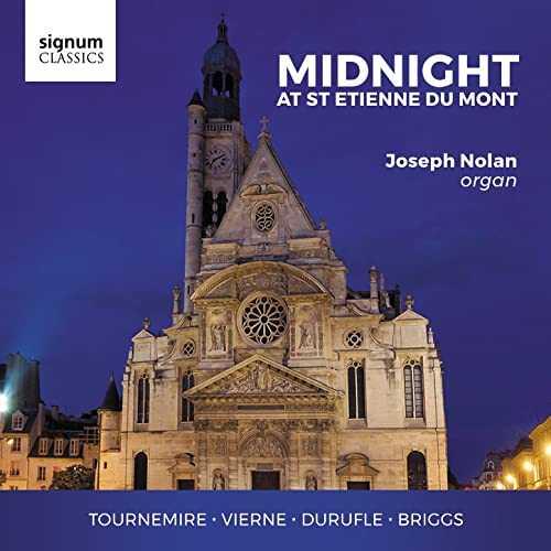 Joseph Nolan - Midnight at St Etienne du Mont (24/96 FLAC)