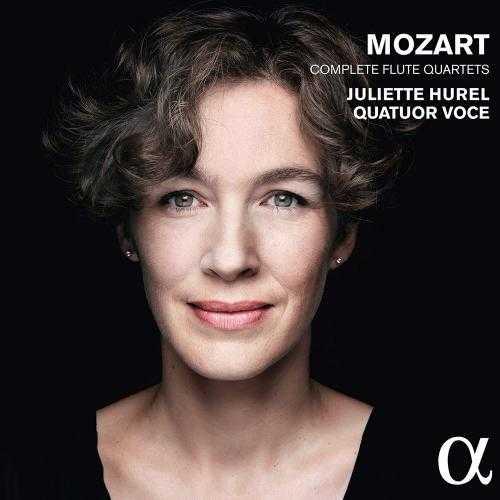 Juliette Hurel: Mozart - Complete Flute Quartets (24/96 FLAC)
