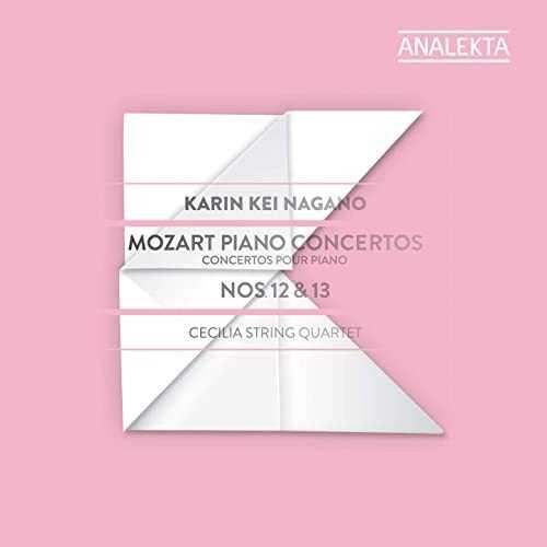 Karin Kei Nagano: Mozart - Piano Concertos no.12 & 13 (24/192 FLAC)