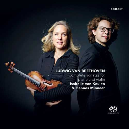 Keulen, Minnaar: Beethoven - Complete Sonatas for Piano and Violin (SACD)