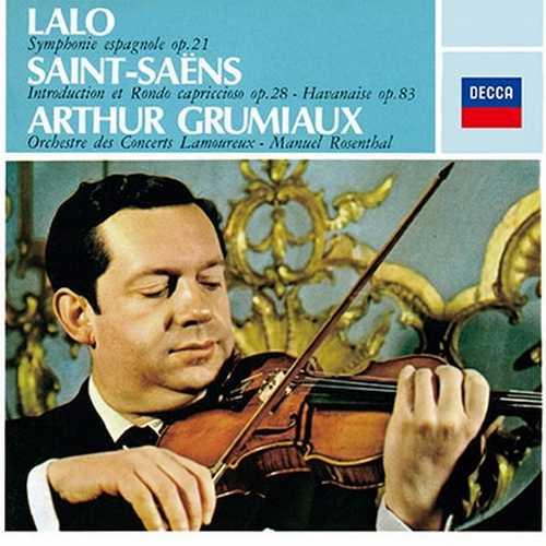 Grumiaux: Lalo - Symphonie Espagnole, Saint-Saëns - Introduction et Rrondo Capriccioso (SACD)