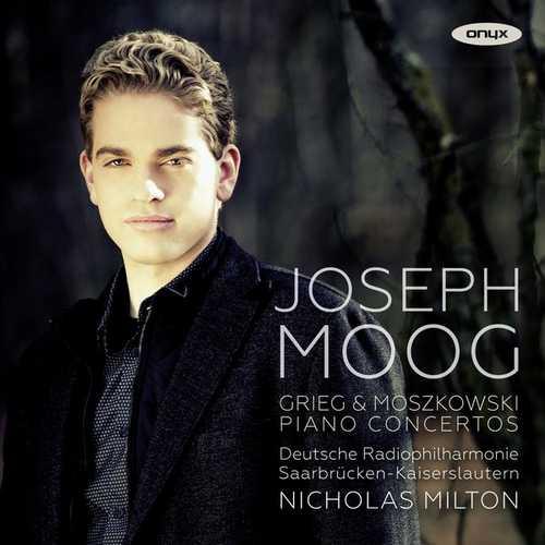 Moog, Milton: Grieg & Moszkowski - Piano Concertos (24/44 FLAC)