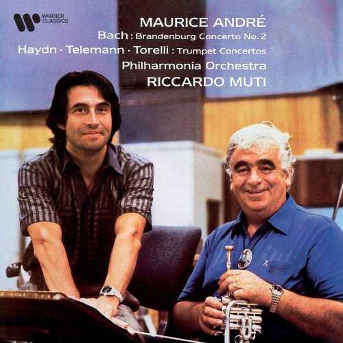 Maurice Andre: Bach - Brandenburg Concerto no.2; Haydn, Telemann, Torelli - Trumpet Concertos (FLAC)