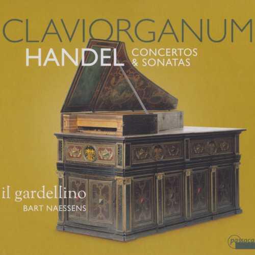 Naessens: Handel - Claviorganum Concertos & Sonatas (FLAC)