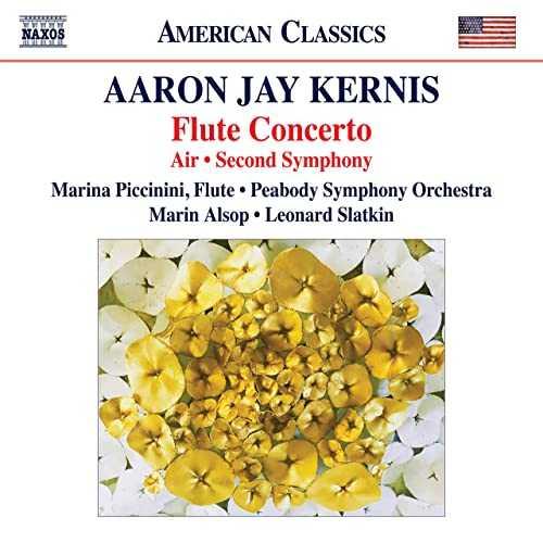 Piccinini, Slatkin, Alsop: Kernis - Flute Concerto, Air, Second Symphony (24/96 FLAC)
