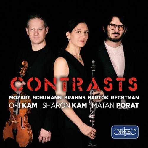 Sharon Kam, Ori Kam, Matan Porat - Contrasts (24/48 FLAC)