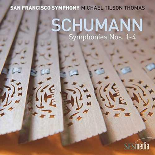 Tilson Thomas: Schumann - Symphonies no.1-4 (24/96 FLAC)
