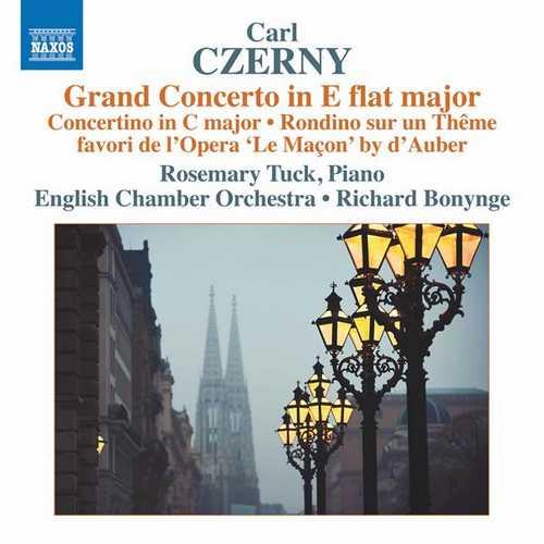 Tuck: Czerny - Second Grand Concerto in E Flat major, Concertino, Rondino (24/96 FLAC)