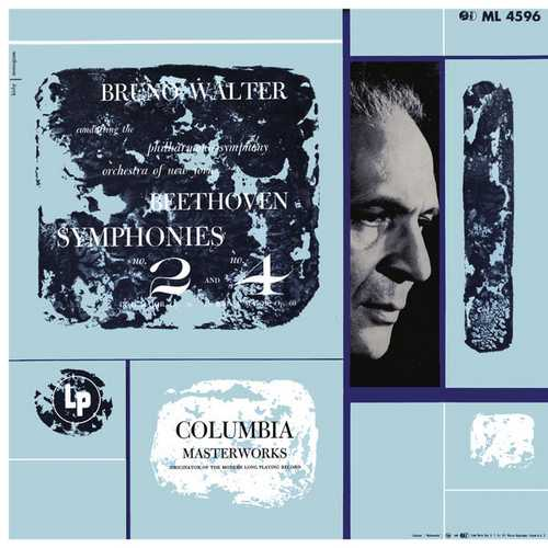 Walter: Beethoven - Symphonies no.2 & 4. Remastered (24/96 FLAC)