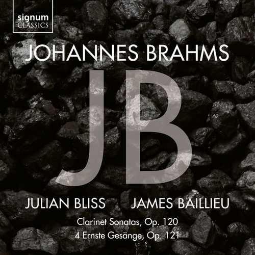 Bliss, Baillieu: Brahms: Clarinet Sonatas op.120, 4 Ernste Gesänge op.121 (24/96 FLAC)