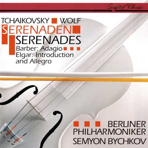 Bychkov: Tchaikovsky, Wolf - Serenades, Barber - Adagio, Elgar - Introduction and Allegro (FLAC)