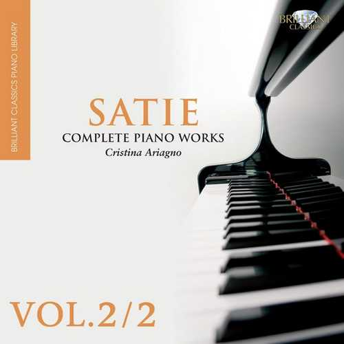 Christina Ariagno: Satie - Complete Piano Works vol.2 (FLAC)