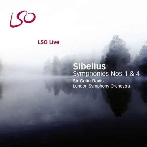 Davis: Sibelius - Symphonies no.1 & 4 (24/96 FLAC)