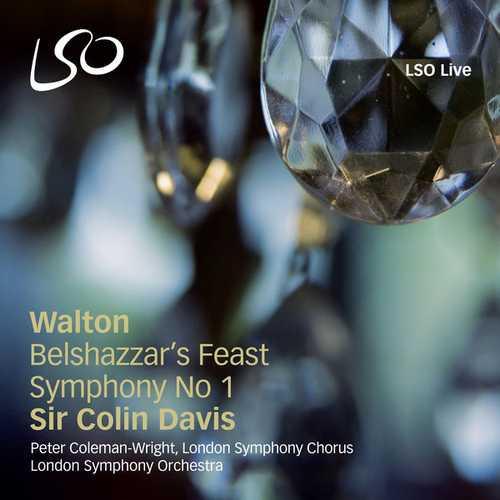 Davis: Walton - Belshazzar's Feast, Symphony no.1 (24/96 FLAC)