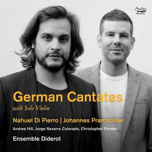 Ensemble Diderot: German Cantatas with Solo Violin (24/96 FLAC)