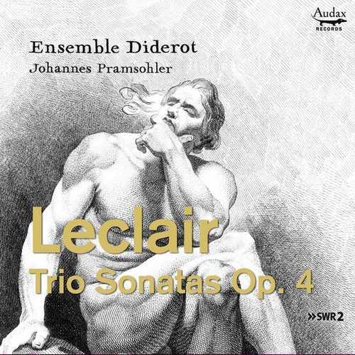 Ensemble Diderot: Leclair - Trio Sonatas op.4 (24/48 FLAC)