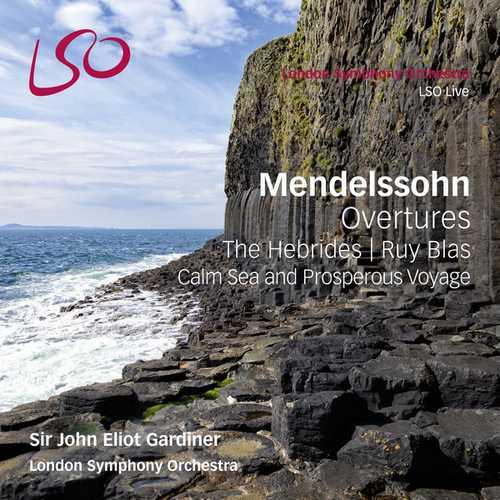 Gardiner: Mendelssohn - Overtures (24/96 FLAC)