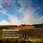 "Gardiner: Mendelssohn - Symphony no.1, Symphony no.4 ""Italian"" (24/96 FLAC)"