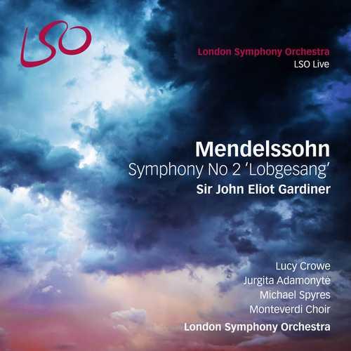 "Gardiner: Mendelssohn - Symphony no.2 ""Lobgesang"" (24/96 FLAC)"