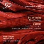 Bronfman, Gergiev: Stravinsky - The Firebird, Bartók - Piano Concerto no.3, The Miraculous Mandarin (FLAC)