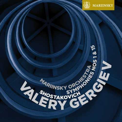 Gergiev: Shostakovich - Symphonies no.1 & 15 (24/96 FLAC)