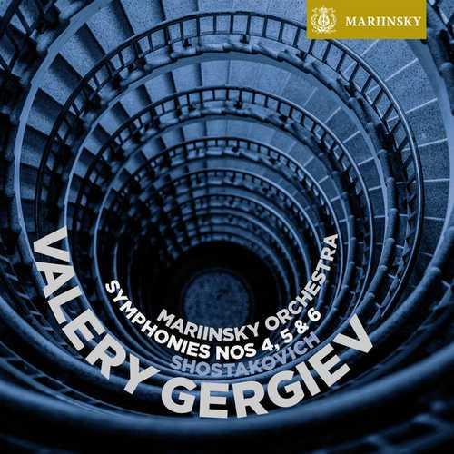 Gergiev: Shostakovich - Symphonies no.4, 5 & 6 (24/96 FLAC)