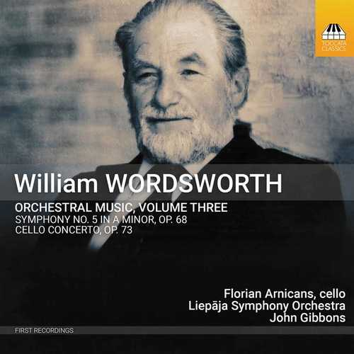 Arnicans, Gibbons: Wordsworth Orchestral Music vol.3 (24/96 FLAC)