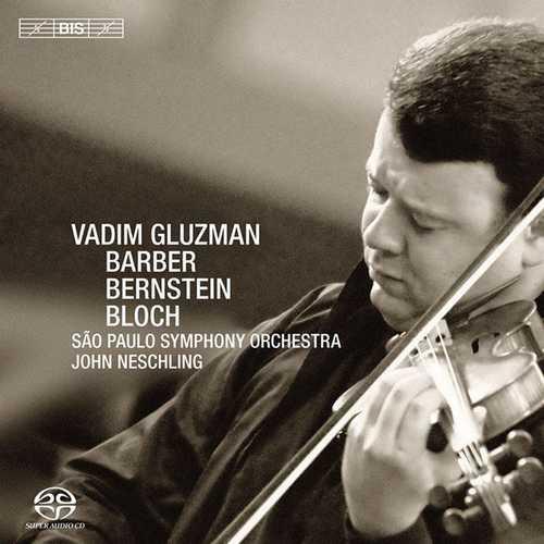 Vadim Gluzman: Barber, Bernstein, Bloch (24/44 FLAC)