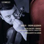 Gluzman: Bruch - Violin Concerto no.1, Romance, String Quintet in A Minor (24/44 FLAC)