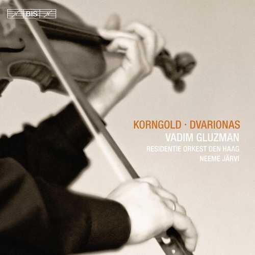 Gluzman, Järvi: Korngold, Dvarionas - Violin Concertos (24/44 FLAC)