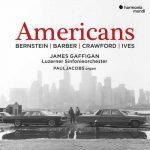 Jacobs, Gaffigan: Bernstein, Barber, Crawford, Ives - Americans (24/96 FLAC)
