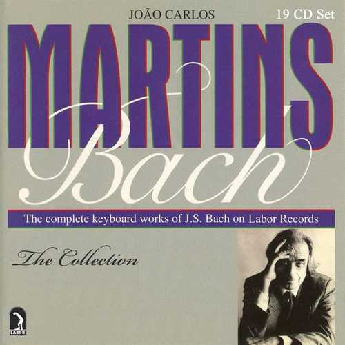 Martins: Bach - The Complete Ketboard Works of J.S. Bach on Labor Records (FLAC)