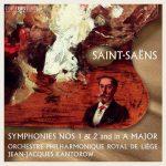 Kantorow: Saint-Saëns - Symphonies no.1 & 2 (24/96 FLAC)