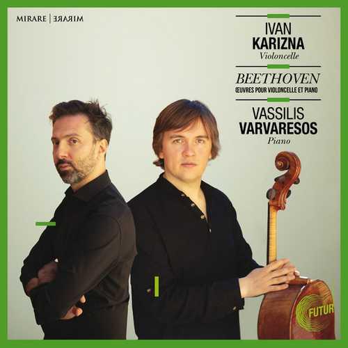 Karizna, Varvaresos: Beethoven - Œuvres pour Violoncelle et Piano (24/48 FLAC)
