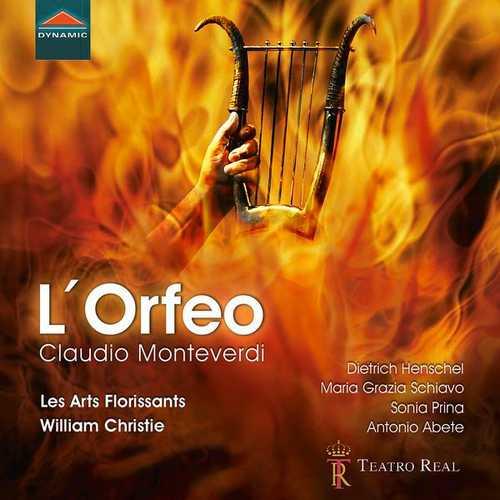 Les Arts Florissants: Monteverdi - L'Orfeo (24/48 FLAC)