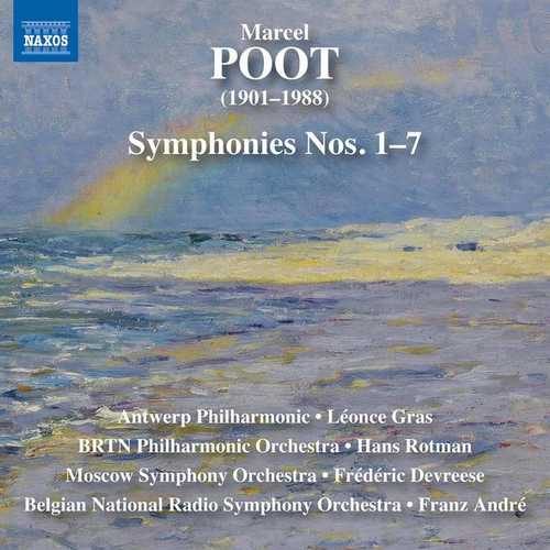 Marcel Poot - Complete Symphonies (FLAC)