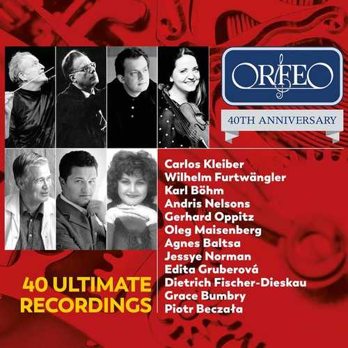 Orfeo 40th Anniversary: 40 Ultimate Recordings (FLAC)
