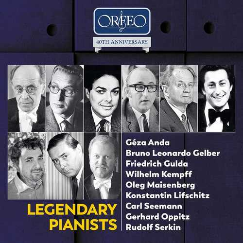 Orfeo 40th Anniversary: Legendary Pianists (FLAC)