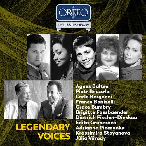 Orfeo 40th Anniversary: Legendary Voices (FLAC)