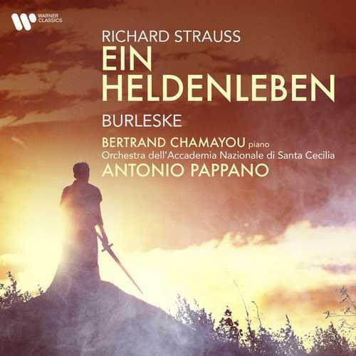 Pappano: Strauss - Ein Heldenleben, Burleske (24/96 FLAC)