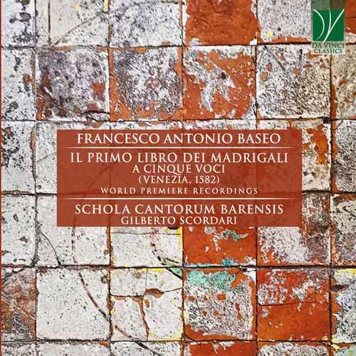 Scordari: Baseo - Il Primo Libro dei Madrigali a Cinque Voci (FLAC)