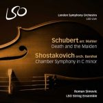 Simović: Schubert – Death and the Maiden, Shostakovich – Chamber Symphony (DSD)