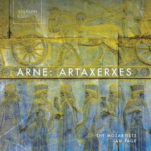 The Mozartists: Thomas Arne - Artaxerxes (24/192 FLAC)