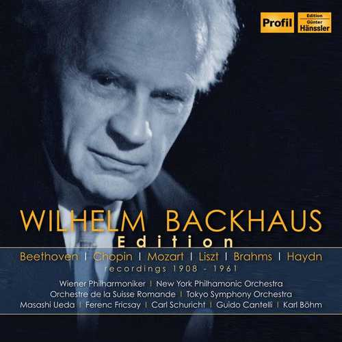 Wilhelm Backhaus Edition (FLAC)