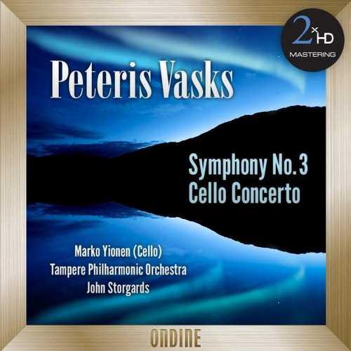 Ylönen, Storgårds: Vasks - Symphony no.3, Cello Concerto (24/192 FLAC)