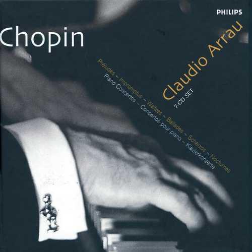 Arrau: Chopin - Piano Music/Piano Concertos (FLAC)