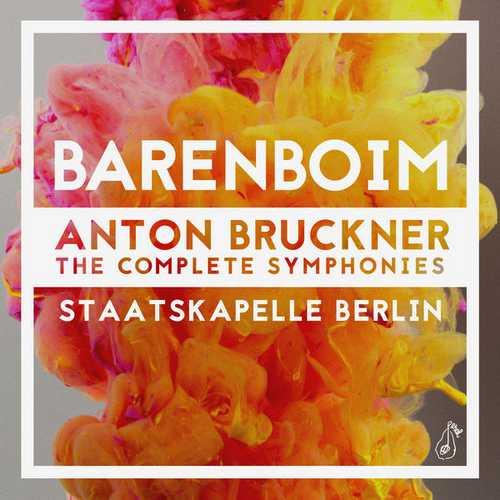 Barenboim: Bruckner - The Complete Symphonies (24/48 FLAC)
