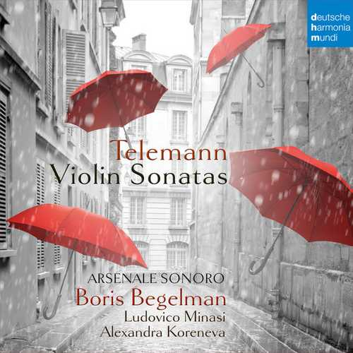 Begelman: Telemann - Violin Sonatas (FLAC)